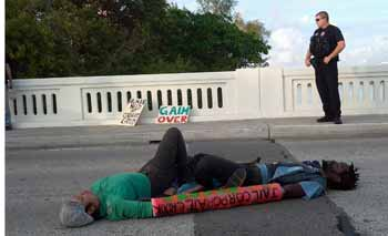 Boca Raton Bridge Blockade